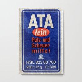ATA Metal Print