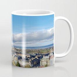 Edinburgh Castle View - Edinburgh,Scotland Coffee Mug