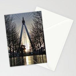 London Eye Sunset Stationery Cards