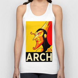 Arch-Monarch Unisex Tank Top
