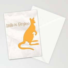SERIES: toodle-oo kangaroo Stationery Cards