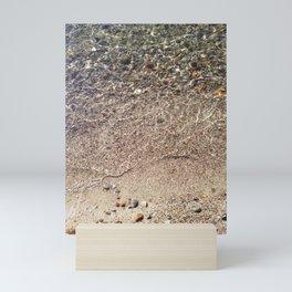 Pebbles in Water Mini Art Print