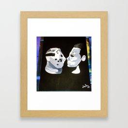 Vorhees Vs. Meyers Framed Art Print