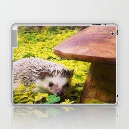 Juni Hedgehog Mushroom Laptop & iPad Skin