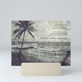 island paradise Mini Art Print