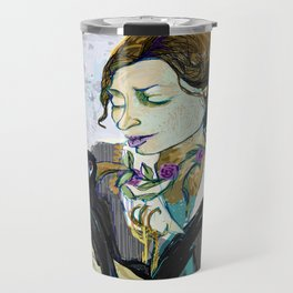 'Communication with the Raven' Travel Mug