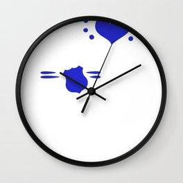 My Heart Belongs to a Police Officer Cop Wall Clock