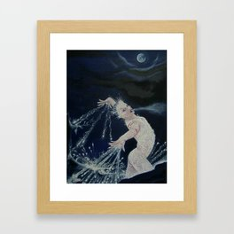 Frostina Framed Art Print