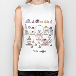 Mimi Loves Wes Anderson movies and cake Biker Tank