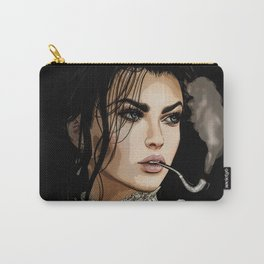 The pipe smoking Lady Carry-All Pouch