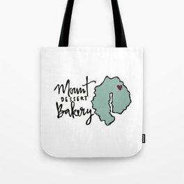 Mount Dessert Bakery Logo Tote Bag