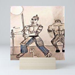 Duel with the Devil Mini Art Print