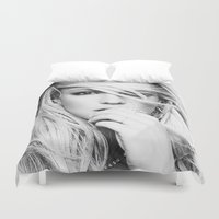 britney spears Duvet Covers featuring Britney Heart by eriicms