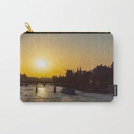 Pont des arts at sunset - Paris, France Carry-All Pouch