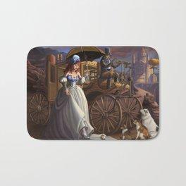 Steampunk Cinderella Bath Mat