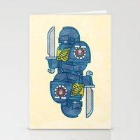 warhammer Stationery Cards featuring Space Marine - Warhammer 40k by M. Gulin