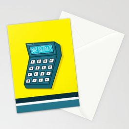 Mr Buttons Stationery Cards