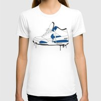 nike T-shirts featuring Nike Air Flight  by GRIB'