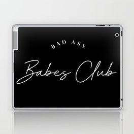 bad ass babes club Laptop & iPad Skin
