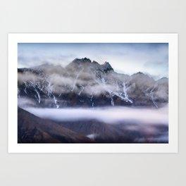 The Remarkables - Queenstown - New Zealand Art Print