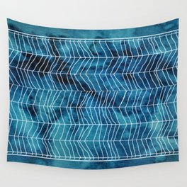Mountain Blues Wall Tapestry