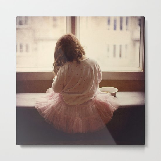 the daily life of a ballerine Metal Print
