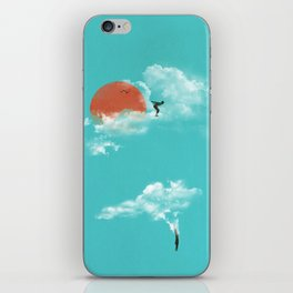 Skydivers (recolor) iPhone Skin
