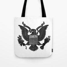 E PLURIBUS UNUM B/W Tote Bag