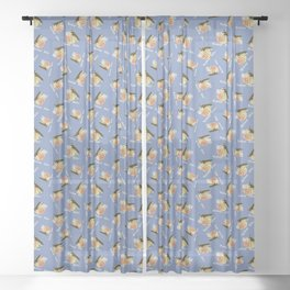 airplane rides-fifty cents Sheer Curtain