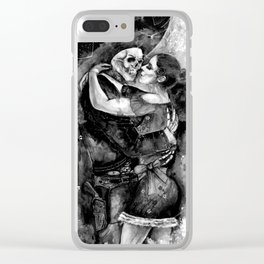 "Un Ultimo Baile ""Shadow"" version Clear iPhone Case"