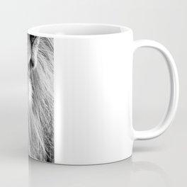 Themba the Lion (Black and White Version) Coffee Mug