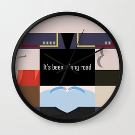It's been a long road - Star Trek: Enterprise ENT - startrek Trektangle minimalist - trektangles Wall Clock