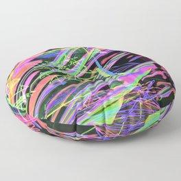 light waves Floor Pillow