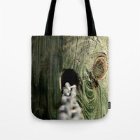 childish gambino Tote Bags featuring Childish Memories by Living Waters Photography