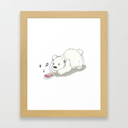 Polar Beats Framed Art Print
