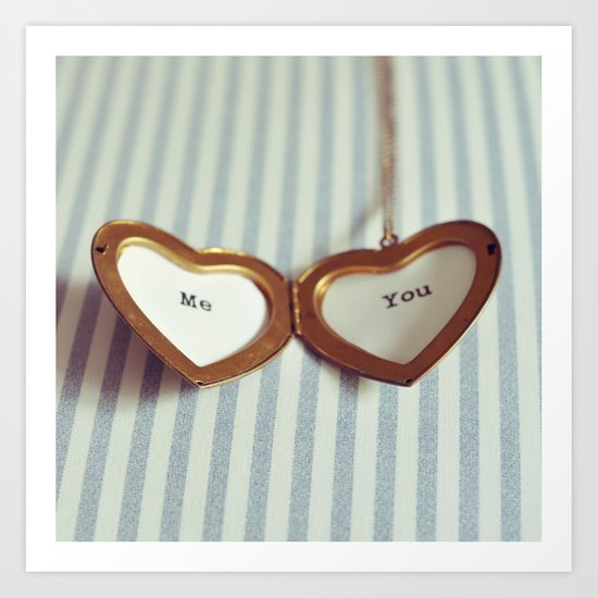 Love in your Heart. Art Print