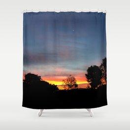 Lurid Dawn: 10.08.15 Shower Curtain