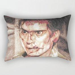 Ash from Evil Dead II (2) by Aaron Bir Rectangular Pillow