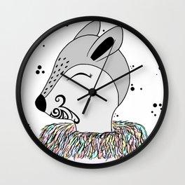 Miss Hata Wall Clock
