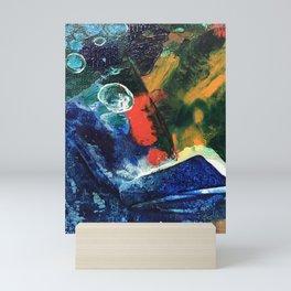 Mini World Environmental Blues 3 Mini Art Print