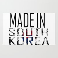 korea Area & Throw Rugs featuring Made In South Korea by VirgoSpice