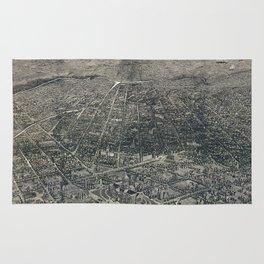 Denver - Colorado - 1887 Rug