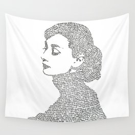 Audrey Hepburn Wall Tapestry