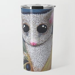 Pygmy Possum and Red Gum Blossoms Travel Mug