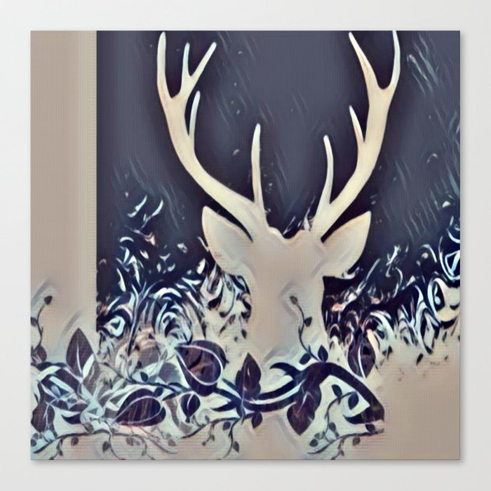 Whisperer Canvas Print