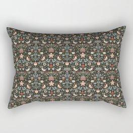 Birdsong Noir Smaller Pattern Rectangular Pillow