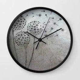 Dandelion Wishes (1) Wall Clock