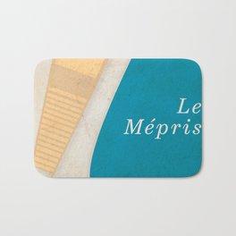Contempt, Le Mépris, Jean-Luc Godard, Fritz Lang, Brigitte Bardot, french film, new wave, vague Bath Mat
