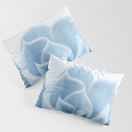 Blue Succulent #5 Pillow Sham