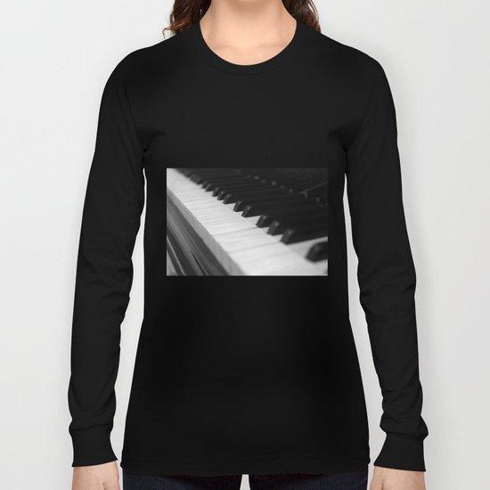 Piano keys Long Sleeve T-shirt